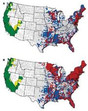 US Lyme Disease Prevalence Map
